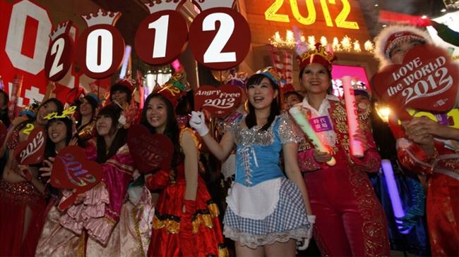 استقبال از سال ۲۰۱۲ در هنگ کنگ