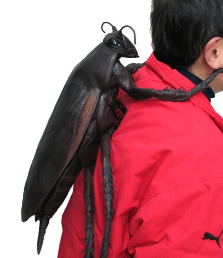عکس: عجیب ترین کوله پشتی دنیا!