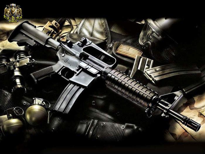 اسلحه اتوماتیک جنگی