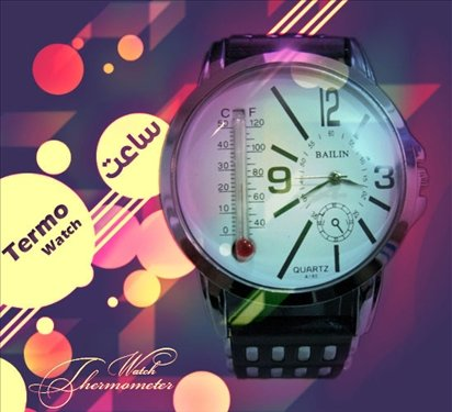 ساعت مچی پسرانه اسپرت مدل دماسنج دار 1396