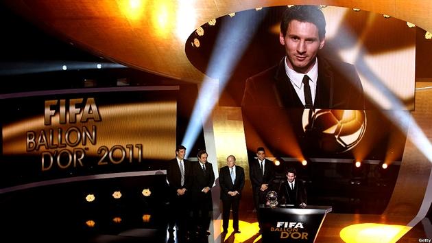 لیونل مسی 2012