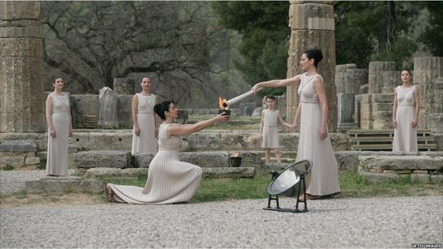 عکسهایی تاریخی از مشعل المپیک