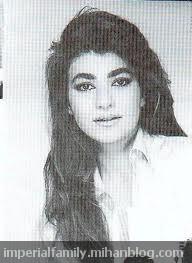 leila pahlavi  عکس لیلا پهلوی
