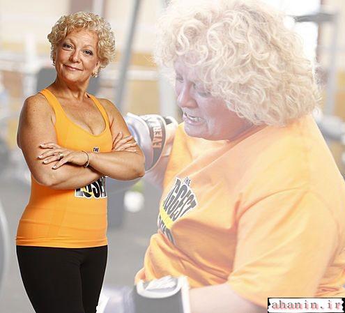 عکسهای جالب از اراده ی افراد چاق