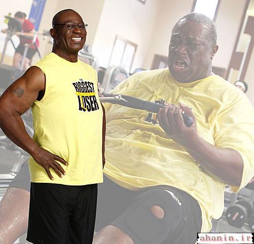 لاغری برای افراد چاق سراب نیست این عکسها رو ببینید