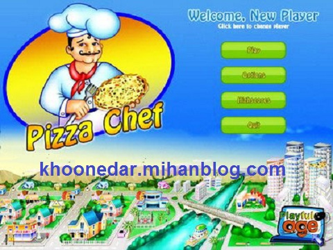 سرآشپز پیتزا Pizza Chef 2