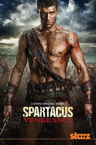 spartacus vengeance poster دانلود قسمت نهم فصل دوم سریال اسپارتاکوس Spartacus Vengeance S02E09