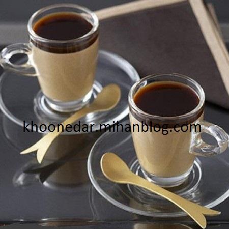 دسر قهوه و خامه