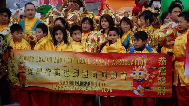 جشن سال نو چینی ها در لندن