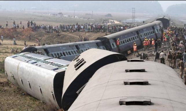 حادثه قطار در هند