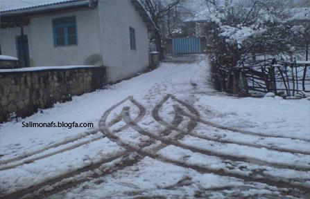 برف در سلیم بهرام