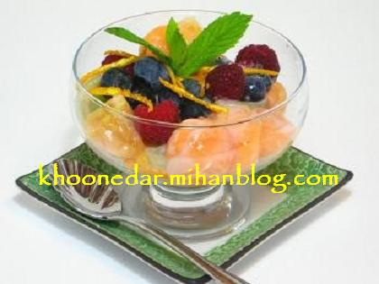 دسر میوه
