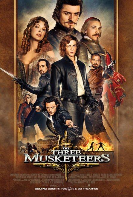 دانلود فیلم The Three Musketeers 2011