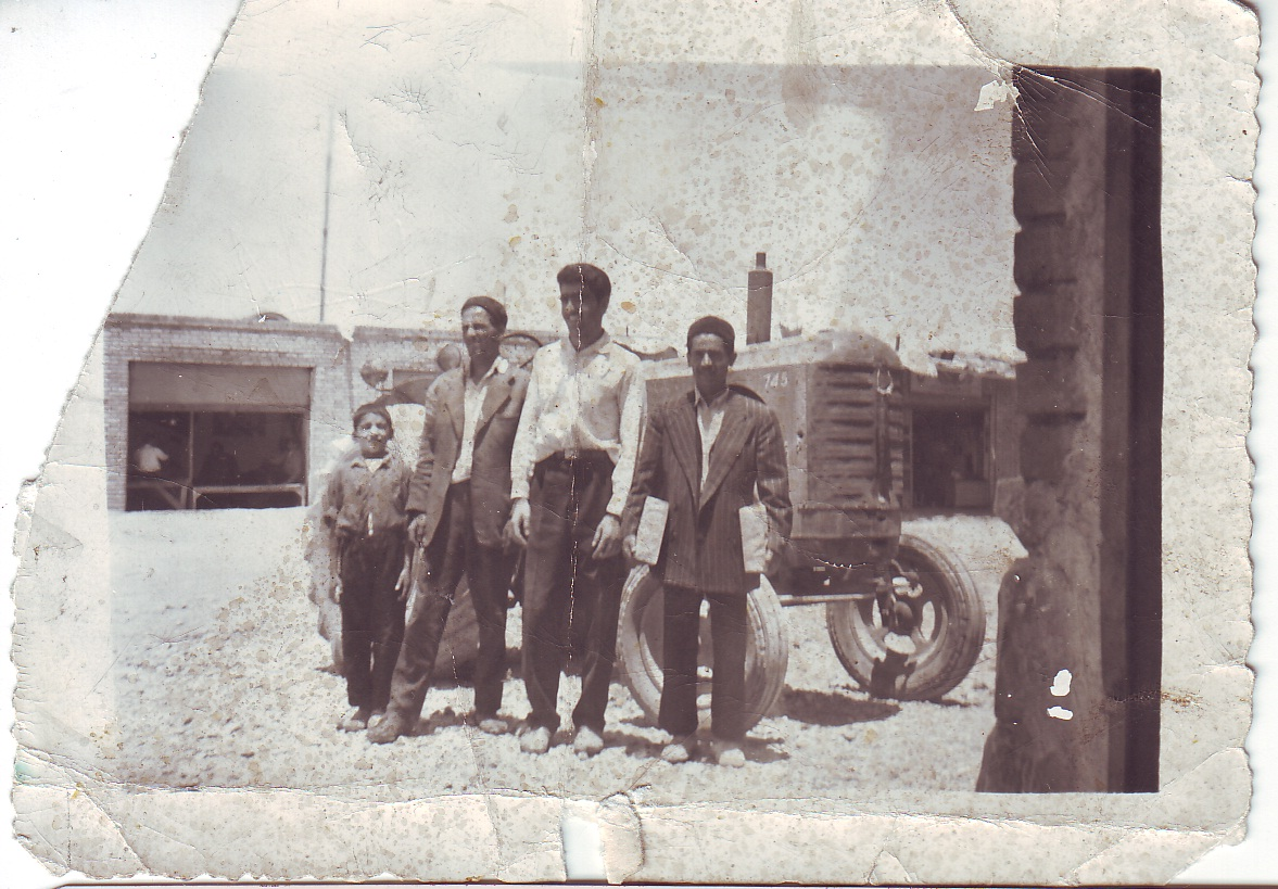 روستای مکی آباد شهرستان ازنا 1959 میلادی