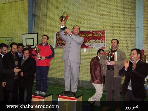 قهرمانی تیم فوتسال سازمان آتش نشانی و خدمات ایمنی شهرداری شهریار