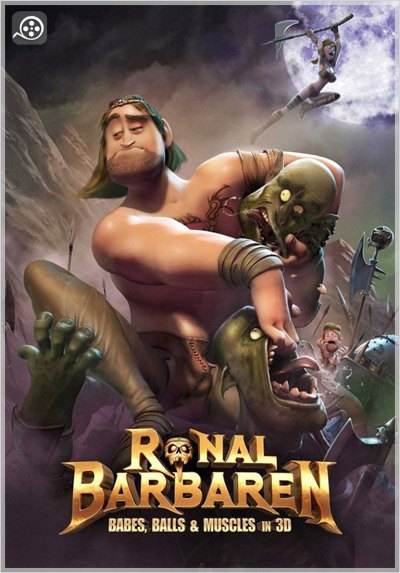 Ronal دانلود انیمیشن Ronal the Barbarian 2011