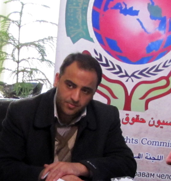 مهندس وحیدکاظم زاده قاضی جهانی  دبیر منطقه 7 کمیسیون حقوق بشراسلامی به عنوان فعال  نمونه فرهنگی استان