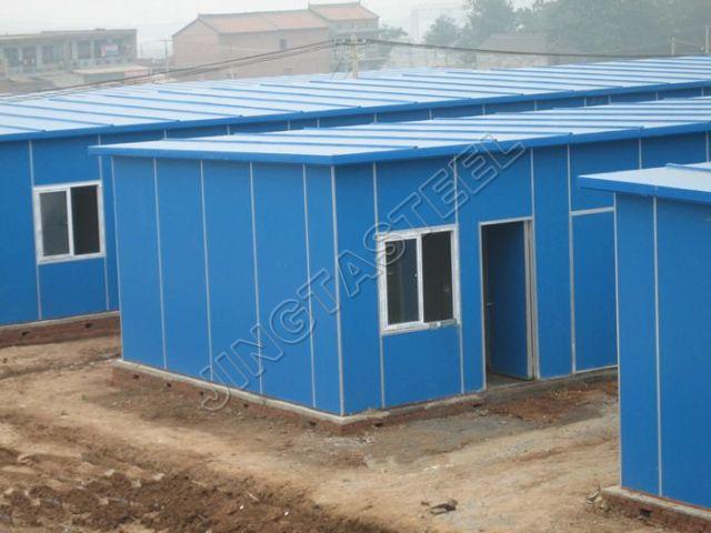 تجهیز پروژه با ساختمان پیش ساخته