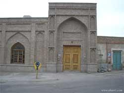 نمای بیرونی مسجد جامع اهر