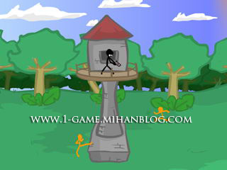 بازی كم حجم و سرگرم كننده Artillery Tower v1.0