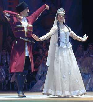 عکس رقص اذربایجانی