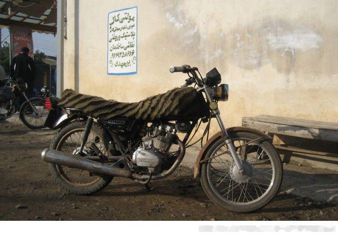 عکس موتور قدیمی ایرانی