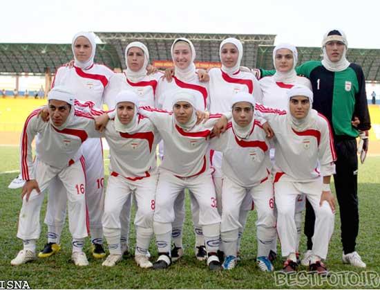 عکس فوتبال زنان ایران