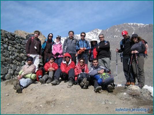 گروه همه ما - جانپناه در مسیر قله چین کلاغ