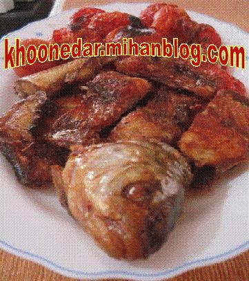 خوراك ماهی سفید