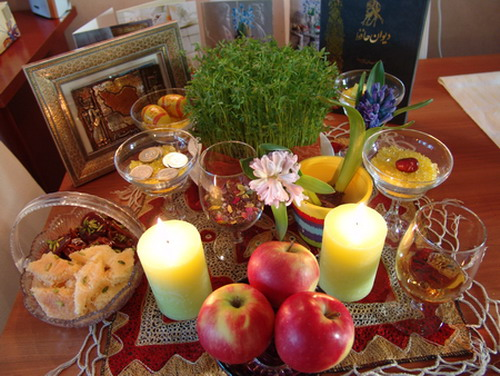 سری اس ام اس تبریک عید نوروز 1391