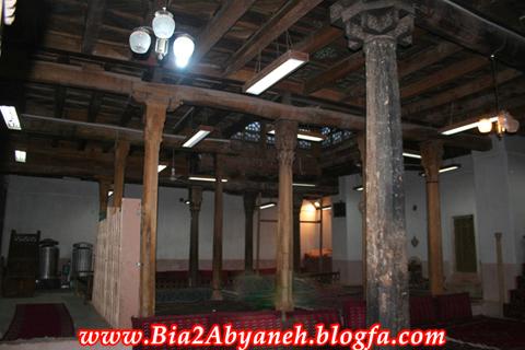 نمای شبستان بالای مسجد
