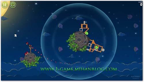 7 عكس زیبا و جدید از بازی زیبای Angry Birds Space