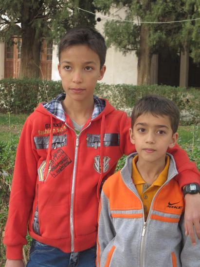 مهدی و علی عزیزم-باغ شاهزاده ماهان