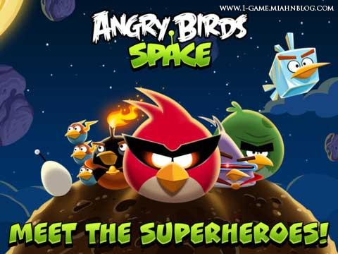 دانلود نسخه جدید پرندگان خشمگین با عنوان فضا