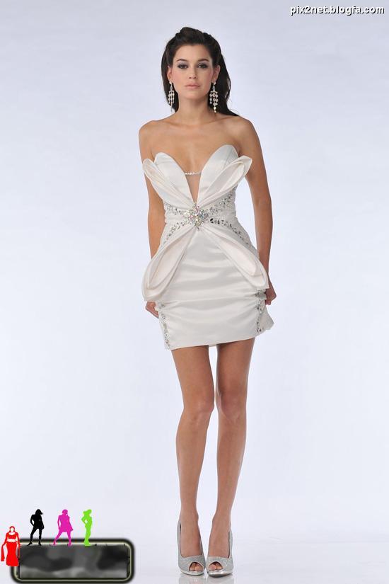 مدل لباس کوتاه دخترانه 2012