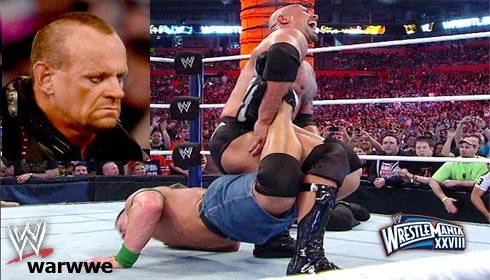 Hell In A CellHHH:John Cena:The Rock:Undertaker:WrestleMania:WrestleMania 28:Wrestlemania Results:WrestleMania XXVIII:WWE