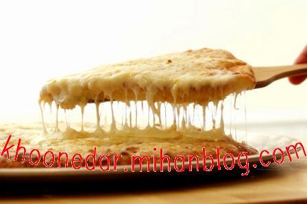 پنیر پیتزا در خانه