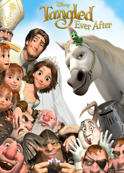 Tangled Ever After 2012  دانلود انیمیشن کوتاه Tangled Ever After 2012