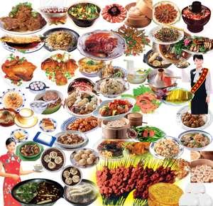 انواع غذاها طرح لایه باز فتوشاپ
