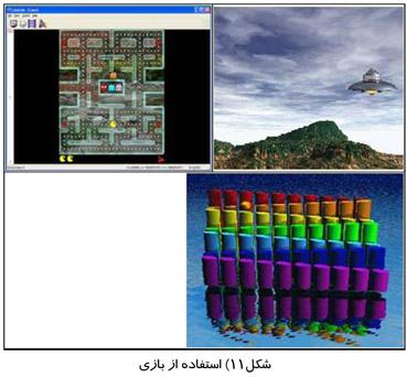 استفاده از بازی
