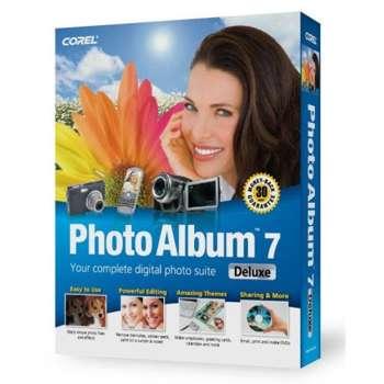 نرم افزار ویرایش عکس Corel Photo Album v7.00 Deluxe