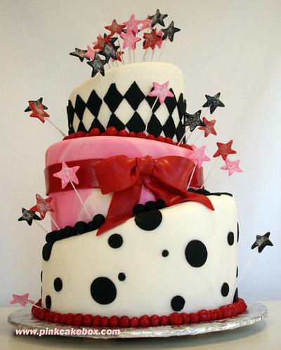 cake173a مدل های کیک تولد زیبا