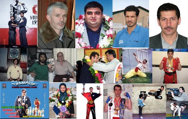 تصاویر اساتید قهرمانان مدیران و ورزشکاران استان اردبیل