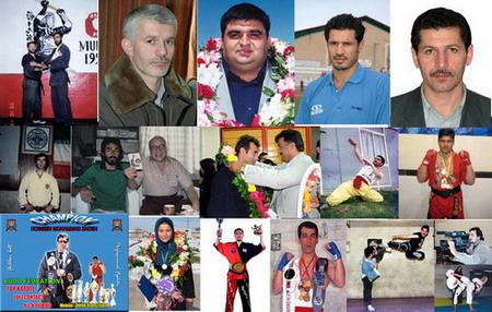اساتید مربیان پیشکسوتان مدیران رزشکاران و قهرمانان استان اردبیل