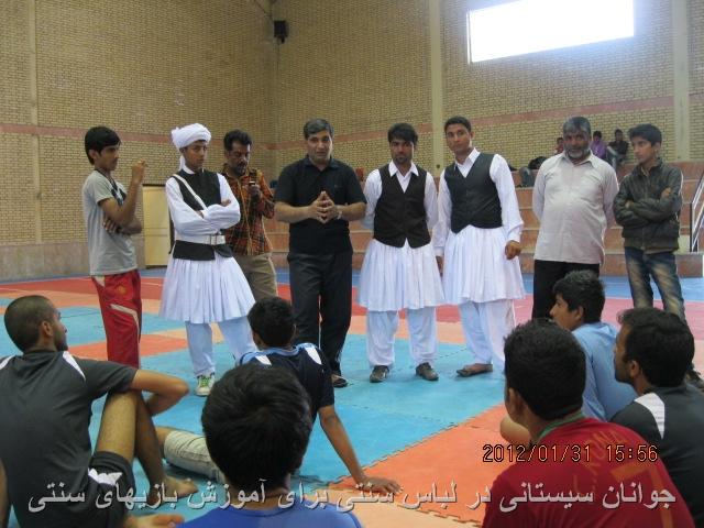 بنياد نيمروز وآموزش بازيهاي سنتي سيستاني به سيستانيان گلستان