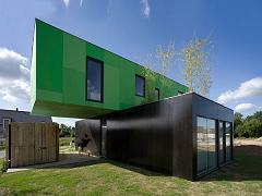 خانه پیش ساخته کانتینری مدرن و زیبا