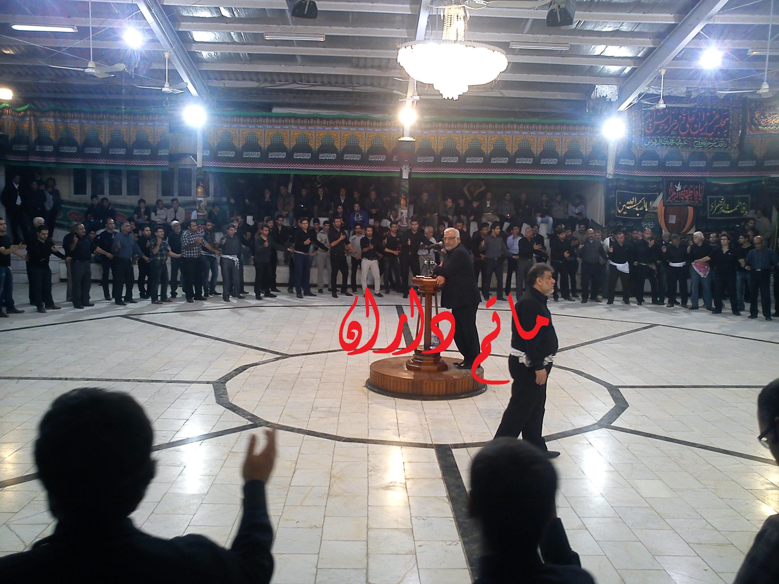 حاج مصطفی گراشی / مسجد دهدشتی