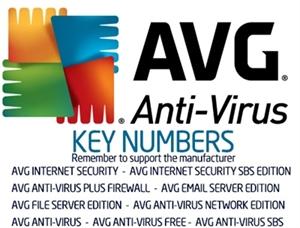جدید ترین کرک سریال فعال سازی AVG Keys for all version  تاریخ اپلود 1391.9.10