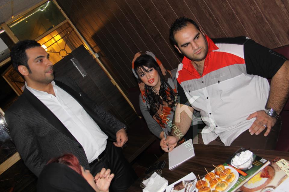 عکس جدید بهداد سلیمی و همسرش