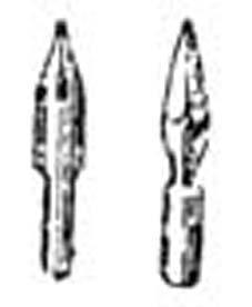 اختراع انواع قلم های فرانسوی سر چاک دار به تقلید از قلم نی عرب